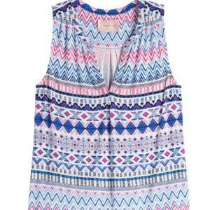STITCH FIX Skies are Blue Posie knit sleeveless S